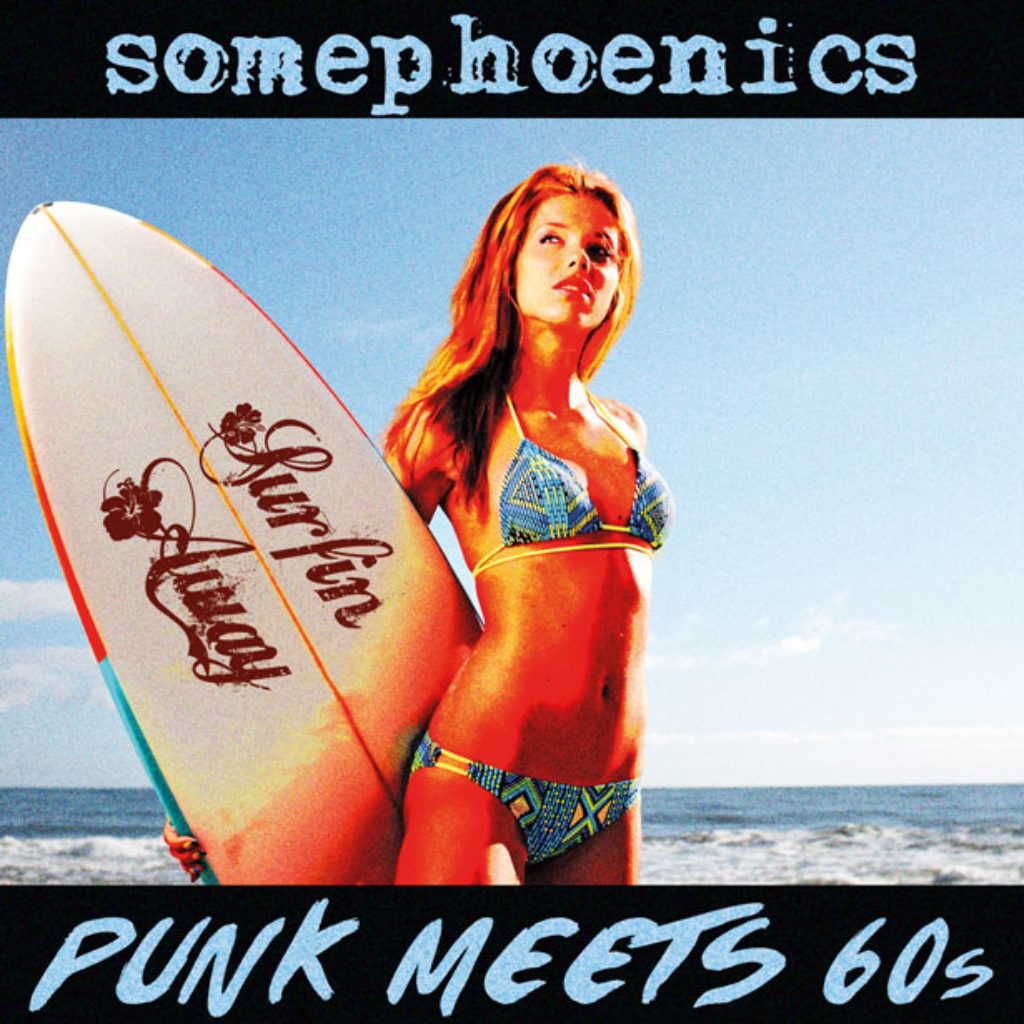 "CD Cover Album ""Punk Meets 60s"""