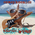 Surfin Away Single CD Cover