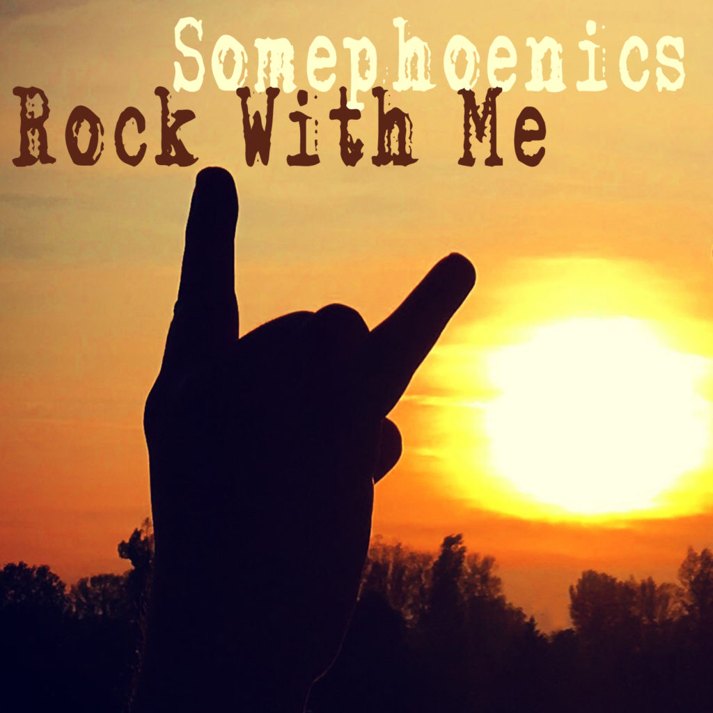 Rock With Me (CD Single Cover) by Somephoenics